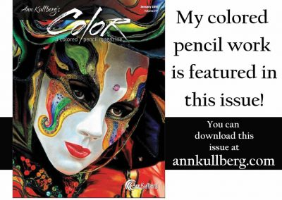 a colored pencil magazine